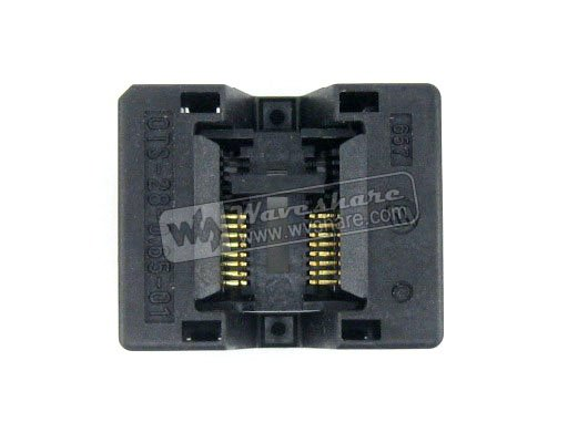 module SSOP16 TSSOP16 OTS-16(28)-0.65-01 Enplas IC Test Burn-in Socket Programming Adapter 0.65mm Pitch 4.4mm Width import ots 28 0 65 01 burning seat tssop28 test programming