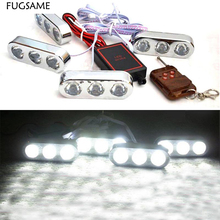 New  Big remote control Eagle Eye Highlight lens spotlights car network Wireless Strobe Driving flashing lights