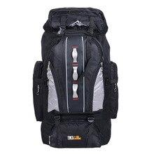 100L imperméable à leau unisexe hommes sac à dos voyage pack sac de sport pack en plein air alpinisme randonnée escalade Camping sac à dos pour homme