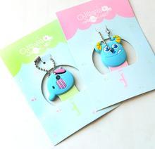 Cute Anime Cartoon Silicone Stitch Minion Key Cover Cap