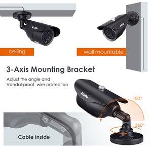 Image 4 - ZOSI HD 960H 1000TVL CMOS 42 pièces IR Leds haute résolution jour/nuit étanche caméra de vidéosurveillance intérieure/extérieure avec support