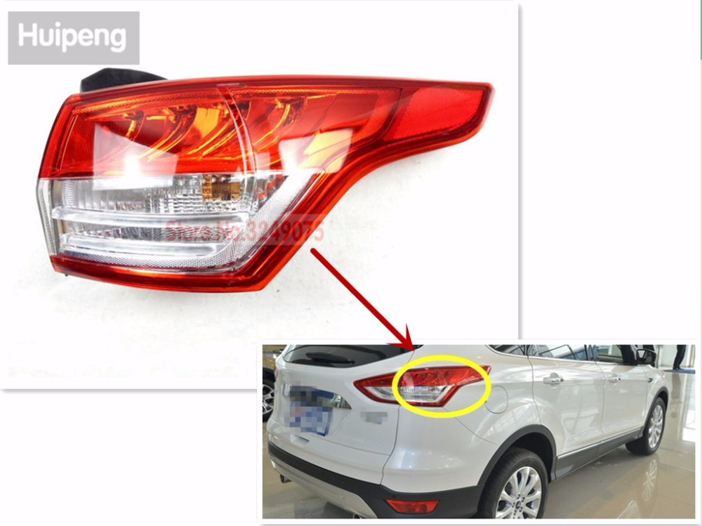 Car Styling for Ford Escape  2013-2015 TAIL Lights LED Tail Light LED Rear Lamp DRL+Brake Trunk LIGHT Automobile Accessories