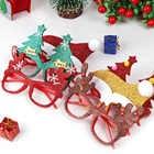 600pcs Kerst Decoraties Voor Home Decor Nieuwe Jaar Bril Voor Kinderen Kerstman Herten Sneeuwpop Kerst Ornamenten Willekeurige - 4