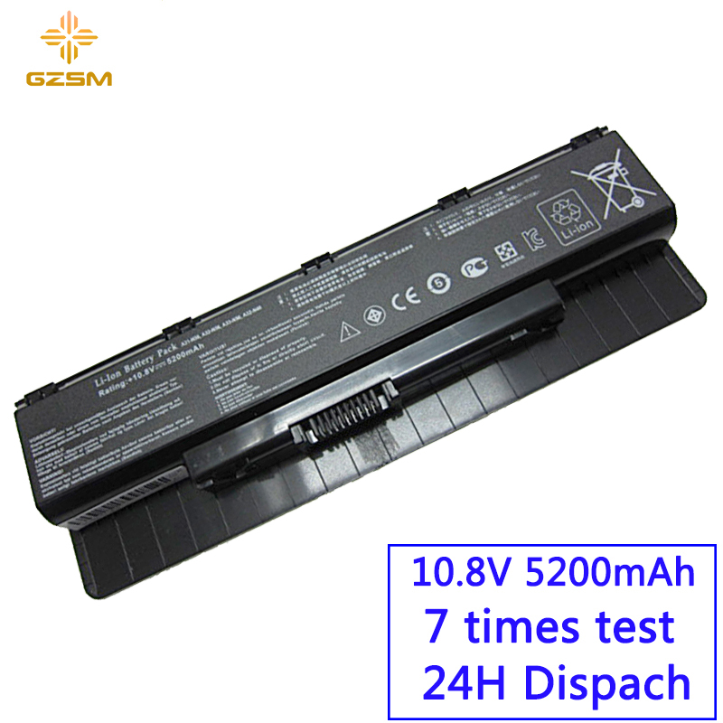 GZSM Laptop Battery A31-N56 For ASUS A32-N56 A33-N56 N46 N76 N56 N46V Batteries N56V B53V B53A F45A F45U N76V R500N N56D Battery
