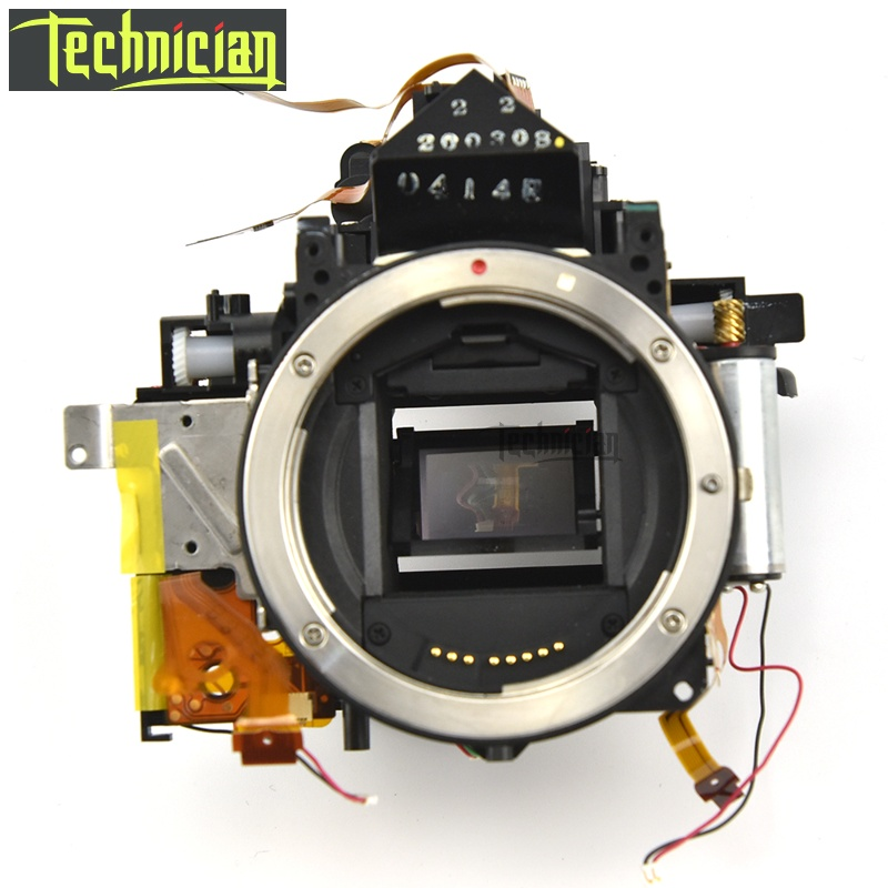 Boîte de corps principal de boîte de miroir de 40D avec l'unité de viseur aucune pièces de rechange d'appareil-photo d'obturation pour Canon