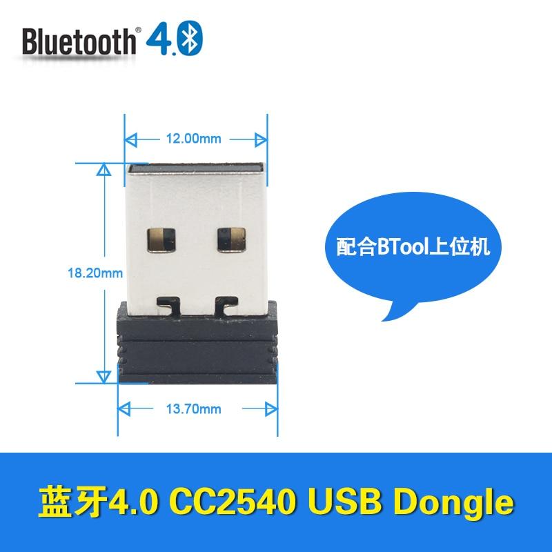 Low power BLE, CC2540, USB, Dongle, Bluetooth, 4 adapter, BTool protocol orico bta 201 mini adaptador bluetooth usb 2 0 bluetooth v2 0 dongle adapter usb bluetooth v2 0 edr usb dongle 20m pc laptop