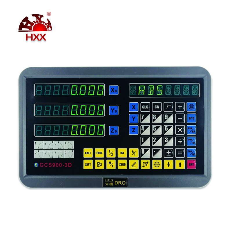 HXX Hight Quality Machine Tools 3 Axis DRO Digital Readout GCS900-3D For Lathe Milling Machine hxx hight quality new design 3 axis dro digital readout gcs900 3d for lathe machine