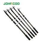 Telescopic Fishing Rod 40-80g Spinning Rod 2.1,2.4,2.7,3.0,3.6M Portable Sea Fishing Rod Long Casting Carbon Rod