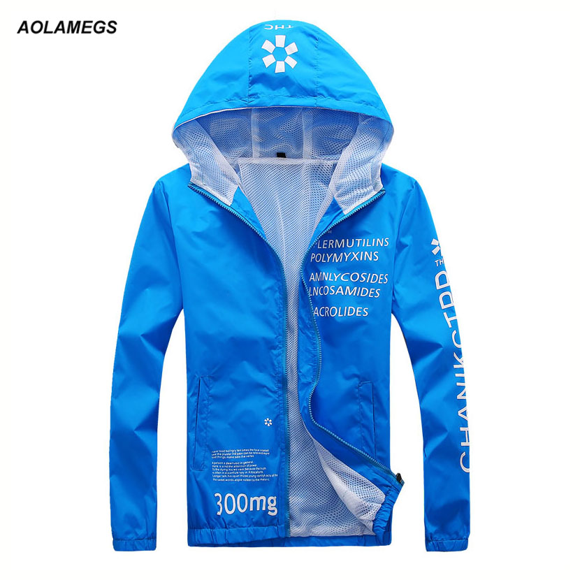 Men hooded sun protection jacket spring summer quick-drying outdoors ultra-thin UV sun protection outwear breathable coat unisex