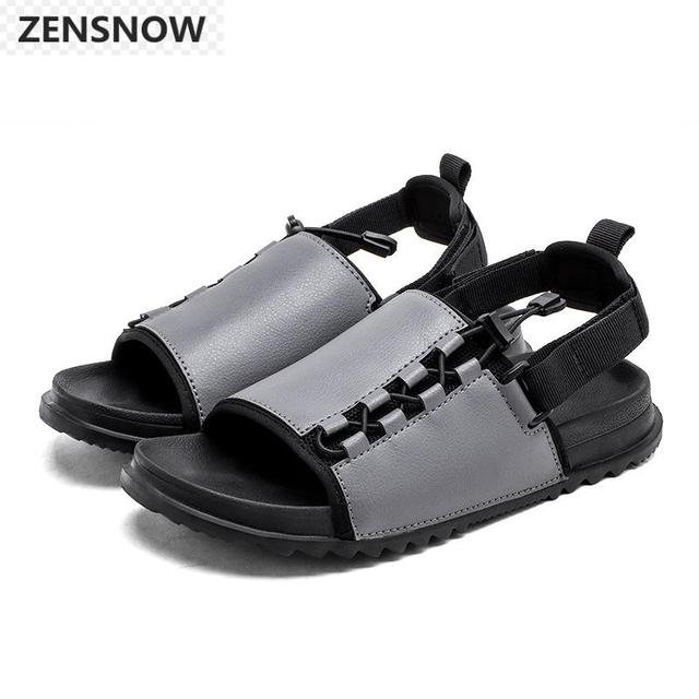 671b5dabf281db 2018 New Summer Classic Men s Sandals Fashion New Personality Male Beach  Shoes Comfortable Antiskid And Wear-resistant Sandals
