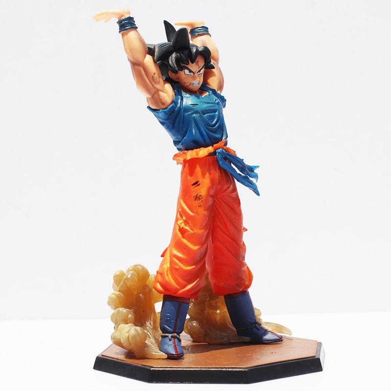 Dragon Ball Z Son Goku Spirit Bomb Genki Dama Ver PVC Figure New No Box