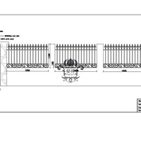 Хэнч сад железный забор 8' x5' черный простой стиль декоративные стальной забор кованого железа Hc f74
