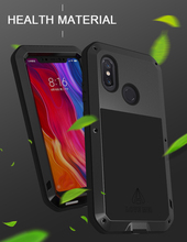 Aluminum Metal Cover For Xiaomi Mi 8 Waterproof Full Body Heavy Duty Armor Case Mi8 Shockproof for