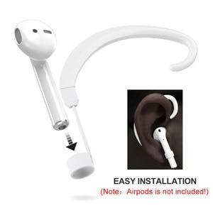 Image 2 - 1 ペアストラップワイヤレス耳かけフックアクセサリーホルダー airpods ためのための 2019 h ベスト