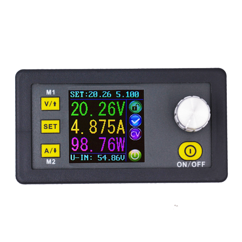 DPS5005 0V-50.00V Constant Voltage meter 0-5.000A current tester Step-down Programmable Supply module regulator converter 8% off constant digital voltage current meter step down dp50v2a voltage regulator supply module buck color lcd display converter