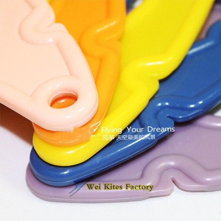 Высокое качество пластиковый трюк кайт Ручка Катушка бар 10 шт./партия легкий контроль открытый игрушки летающий albatross kites wei