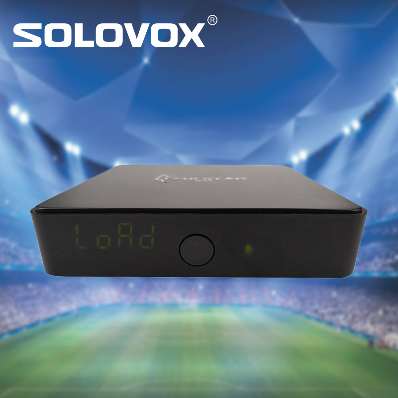 SOLOVOX LIVE box support Arabic English French German Spanish Russian South American IP50 12 months subscription