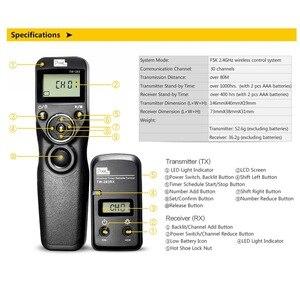 Image 5 - Pixel TW 283 temporizador inalámbrico mando con Control remoto Release (DC0 DC2 N3 E3 S1 S2) Cable para cámara Canon Nikon Sony TW283 VS RC 6