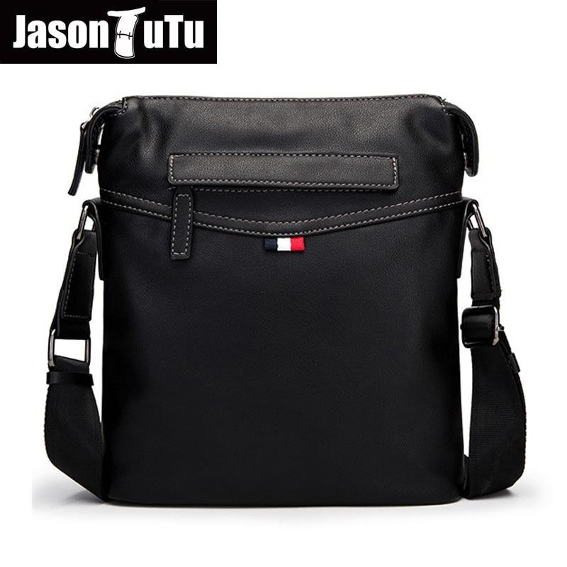 Real Carbon Fiber Men/'s Shoulder Bag Soft Business Casual Bag Black