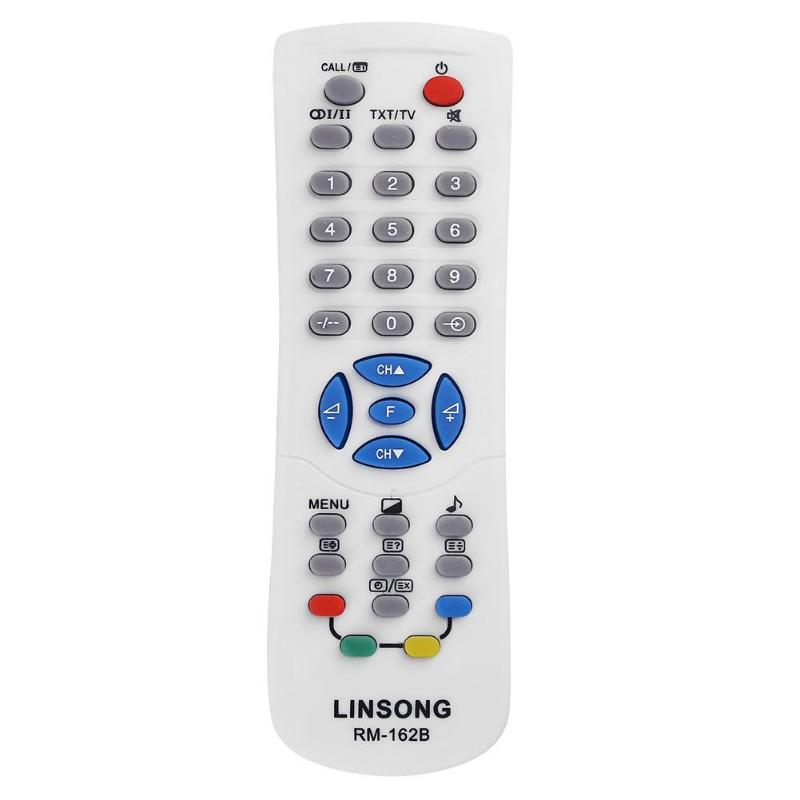 Alloyseed Replacement Universal Smart LCD TV Remote Control for RM-162B