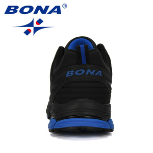 Image 3 - BONA chaussures de Sport dextérieur pour hommes, baskets de créateur, de course, de course, de course, de vache, tendance, nouvelle collection 2019