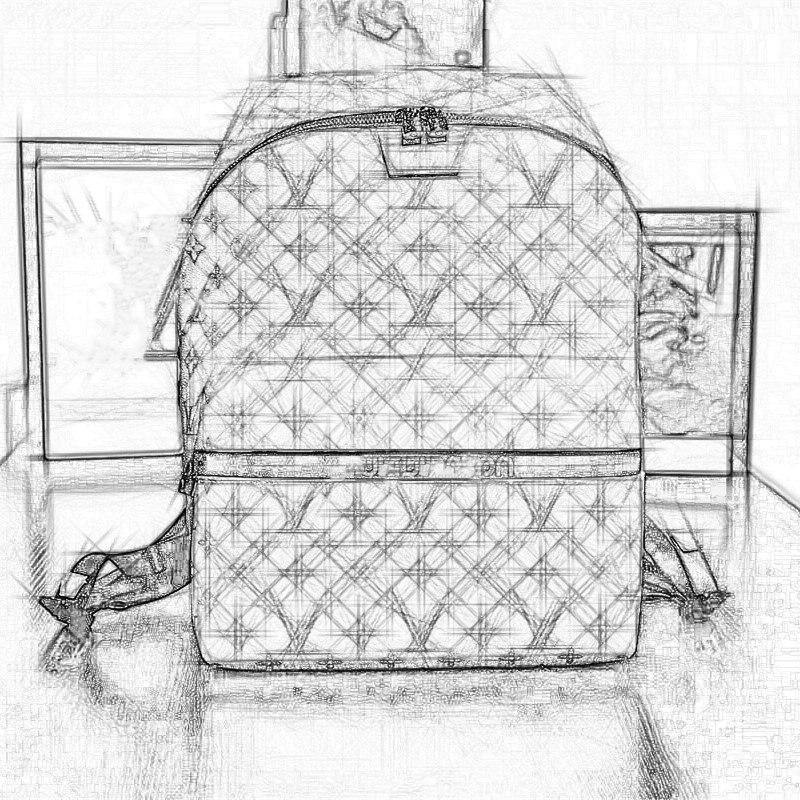 New Men Women Backpack Genuine Leather PVC Men School Bag Zippier Backpacks Luxury Brand Letter Shoulder Bags High Quality 2016 new sports men and women backpacks fashion men s backpack unsix men shoulder bag brand design ladies school backpack