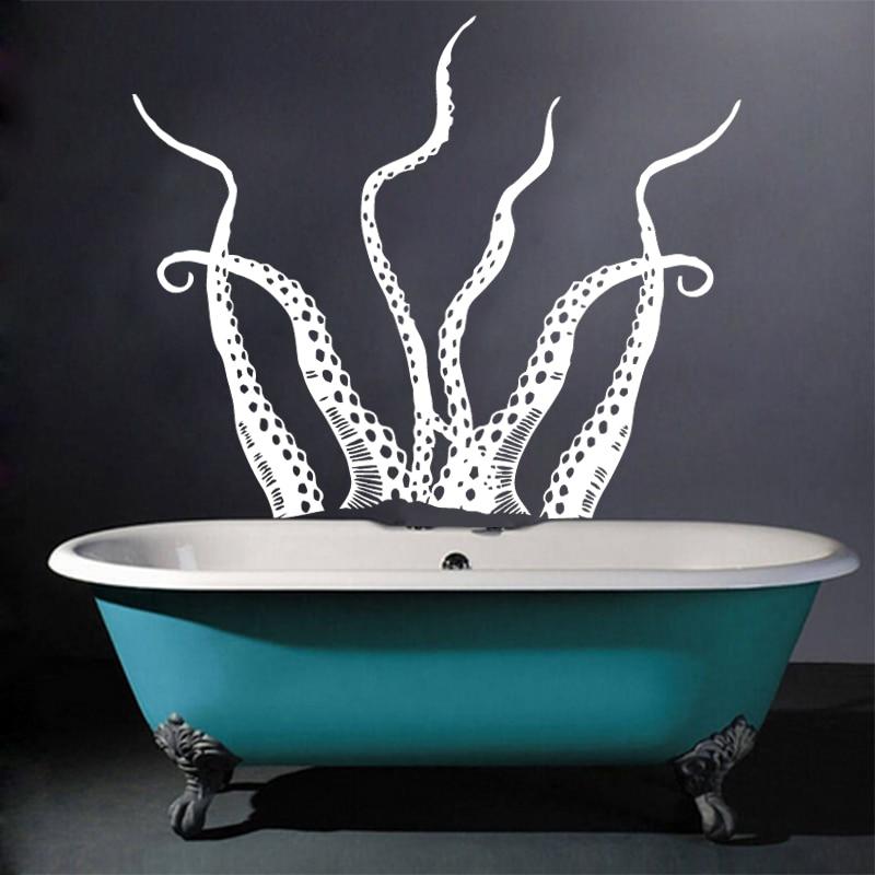 Aliexpress Kunst Neue Design Haus Dekor Meer Tier Octopus   Badezimmer Jumbo