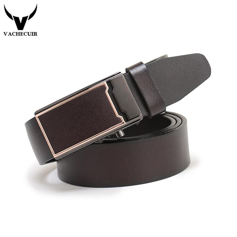 2017 newest men belt 100% genuine leather belt for men real leather belt black coffee automatic buckle belts for jeans cowboy