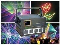 2W RGB ANIMATION LASER 20K high speed module scanner 30degree Automatic/Master Slave/DMX512(12CH)/Compatible ILDA party LIGHT