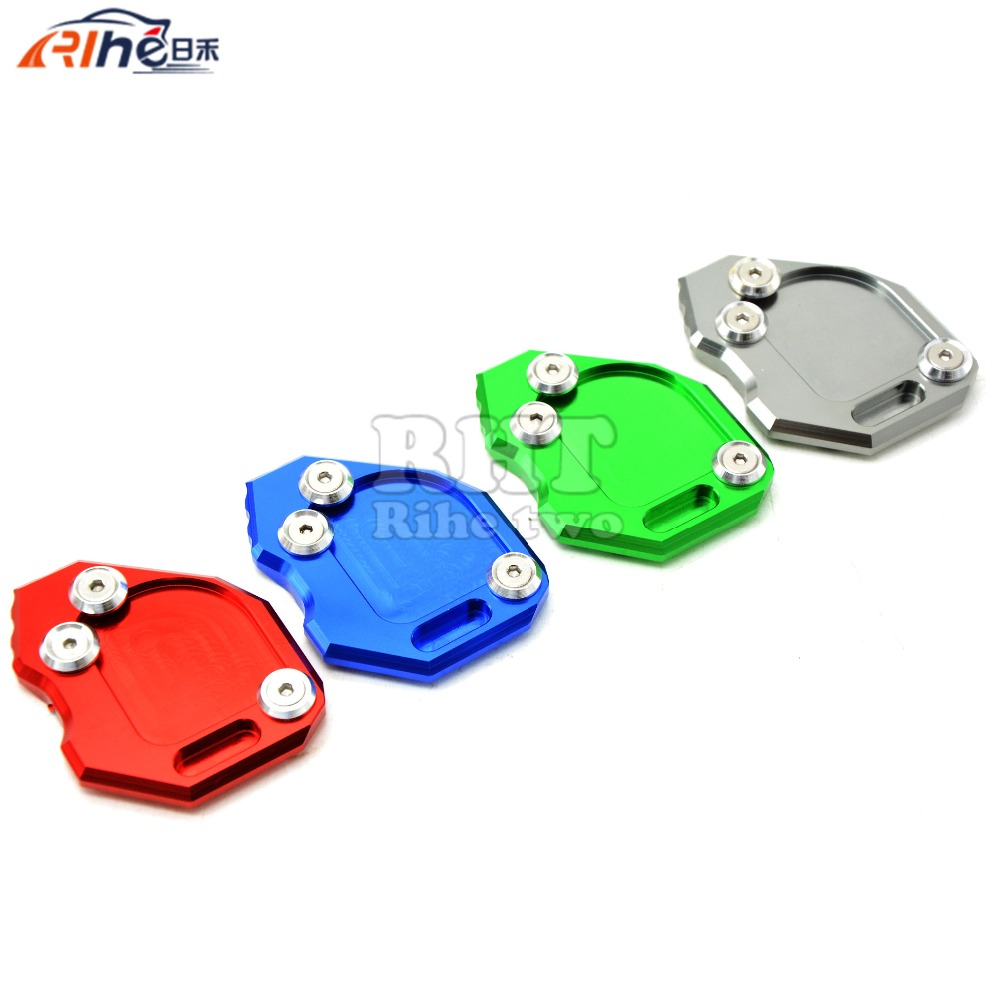 4 Colors Motorcycle stand motorbike Kickstand Aluminum Side Stand Plate Enlarge caballete motocicleta For BMW F800GS F 800 GS-in Stands from Automobiles ...  sc 1 st  AliExpress.com & 4 Colors Motorcycle stand motorbike Kickstand Aluminum Side Stand ...