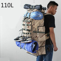 Super 100L Capacity Expansion Navy Outdoors Camp Mountaineering Luggage Travel Male Twenty One Pilots Big Backpack Men Back Bag