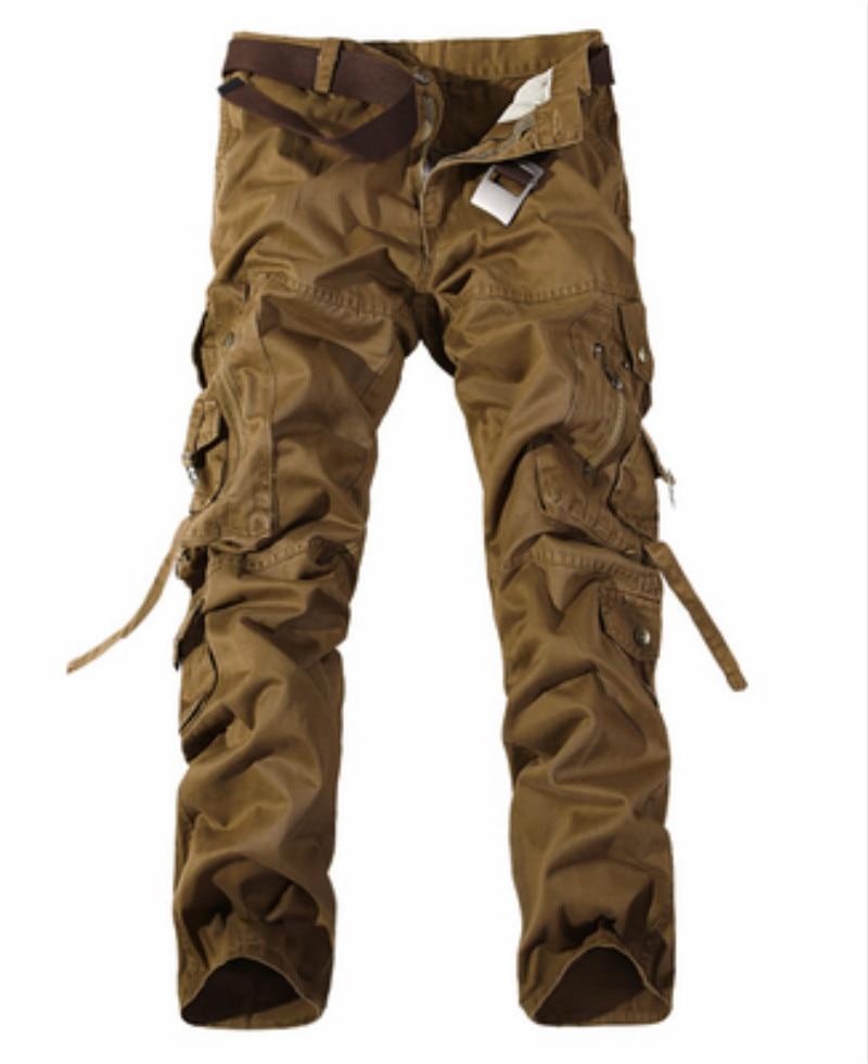 Mens Cargo Pants Jogger Joggers Casual Pants Fitness Hip Hop Men Harem Trousers Army Solid Color Cotton Sweatpants With Pocket