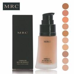MRC Sun Block Foundation Cream Concealer Waterproof Make Up Mineral Liquid Foundation Full Cover Base maquiagem Cosmetics