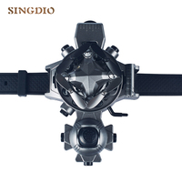 New Style Flying Copter Drone Mini HD Camera Watch Remote Control Toys Children Creative Gifts Folding FPV Drone Flying Copter