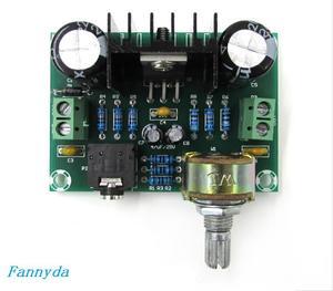 Image 3 - XH M551 モノラルチャンネルアンプボード、 TDA2030A オーディオアンプボード、 18 ワットアンプボード DC/AC12V