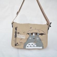 2016 Anime Mein Nachbar Totoro Messenger Tasche Umhängetasche Sling Pack Mein Nachbar Totoro Tasche Cosplay