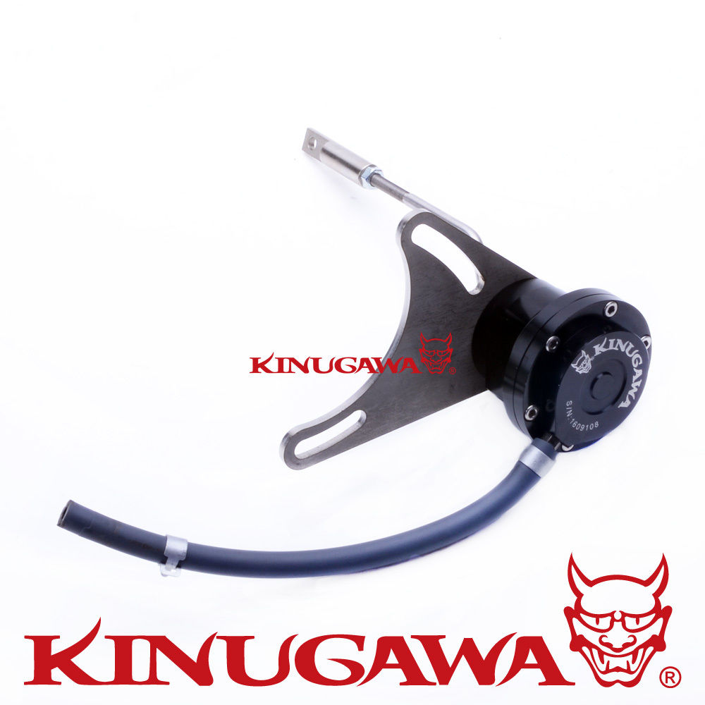 Kinugawa Adjustable Turbo Wastegate Actuator for TOYOTA 2L-T 4-Runner CT20 17201-54030 1.0 bar / 14.7 Psi