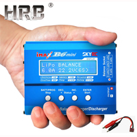 Skyrc iMax B6 Mini Balance Charger Lipo Battery RC Parts Discharger T Plug Banana JST XT60 Connectors Charging Cable AKKU Wires