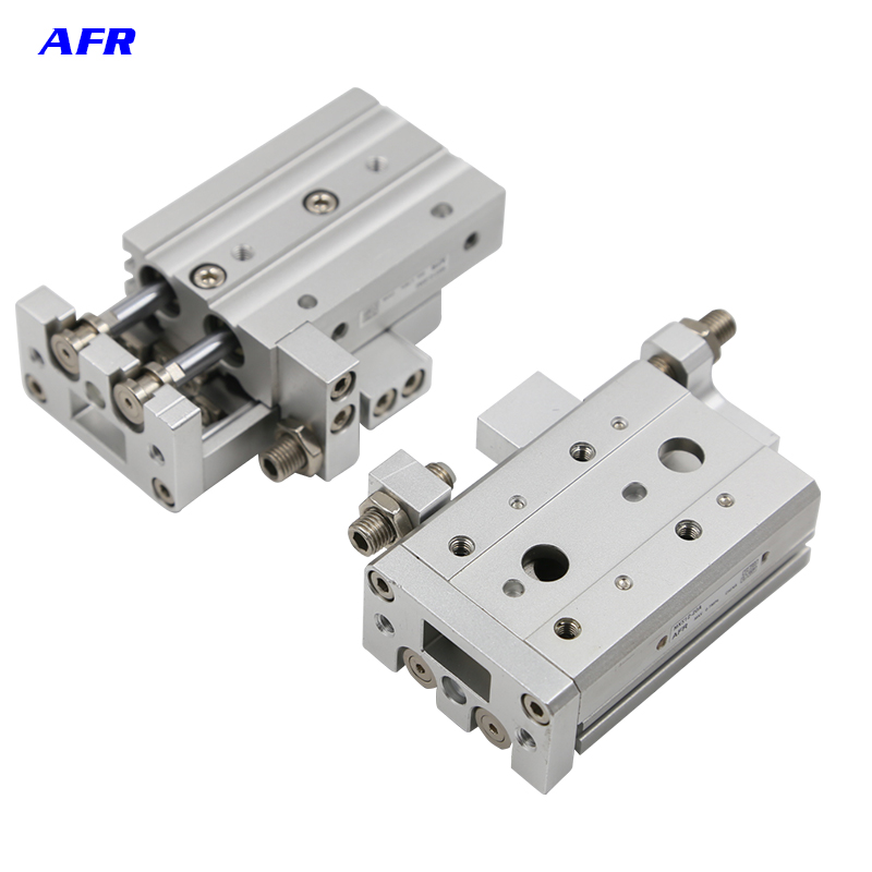 SMC Type Double Acting 6mm Bore Slide guide cylinder MXS6-10A MXS6-20A MXS6-30A MXS6-40A MXS6-50A Pneumatic Air Cylinder hlq25 75s 100s 125s 150s 10a 20a 30a 40a 50a 10b 20b 30b 40b 50b airtac sliding table cylinder