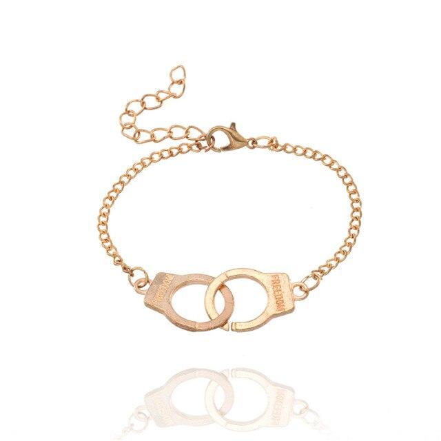 Trendy Handcuffs Bracelets...