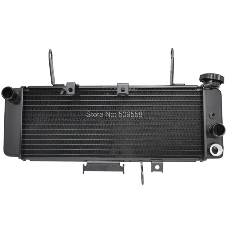 LOPOR For Suzuki SV650 SV650N 2003 2004 2005 2006 2007 SV 650 650N 03 04 05 06 07 Motorcycle parts Aluminium Cooling Radiator