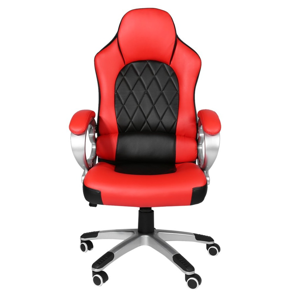 Modern Office Chair 360 Degree Rotation High Back Adjustable Height Racing Chair with Armrest Ergonomic Computer Game Chair e sports chair dxracer fa01 ergonomic chair game the deck chair