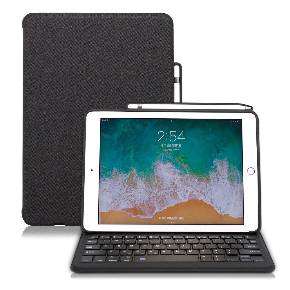 WOWCASE Wireless Keyboard Case Cover For iPad 2018 9.7/11/12