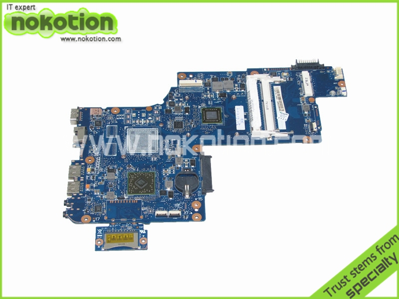 H000042190 laptop motherboard for toshiba satellite C875D L875D Main board EM1200 DDR3