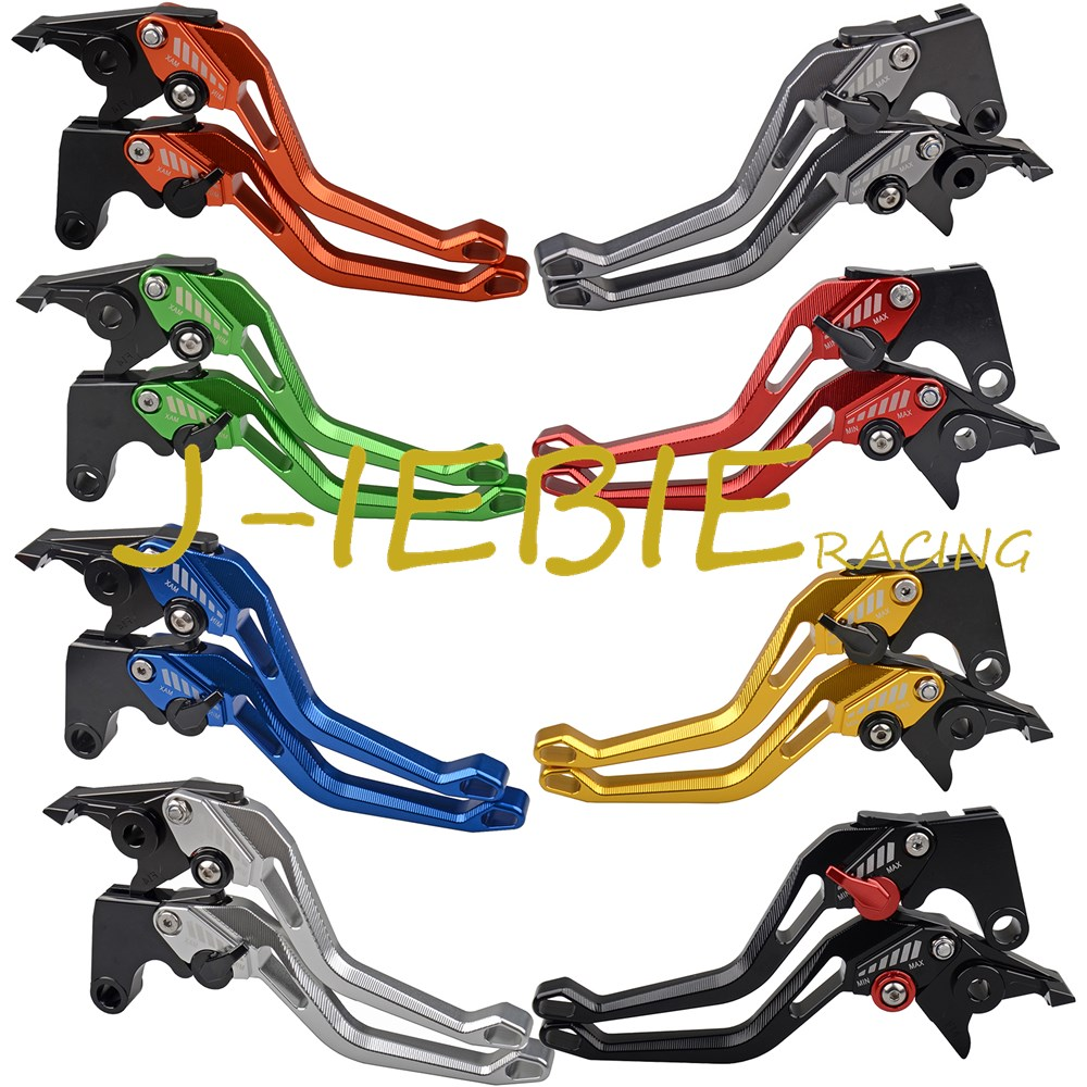 148 New CNC Adjuster Brake Clutch Levers For Yamaha YZF R125 2014  WR125 2009-2015 2010 2011 2012 2013 2014 adjustable long folding clutch brake levers for yamaha yzf r6 yzf r6 05 06 07 08 09 10 11 12 13 14 15 2012 2013 2014 2015