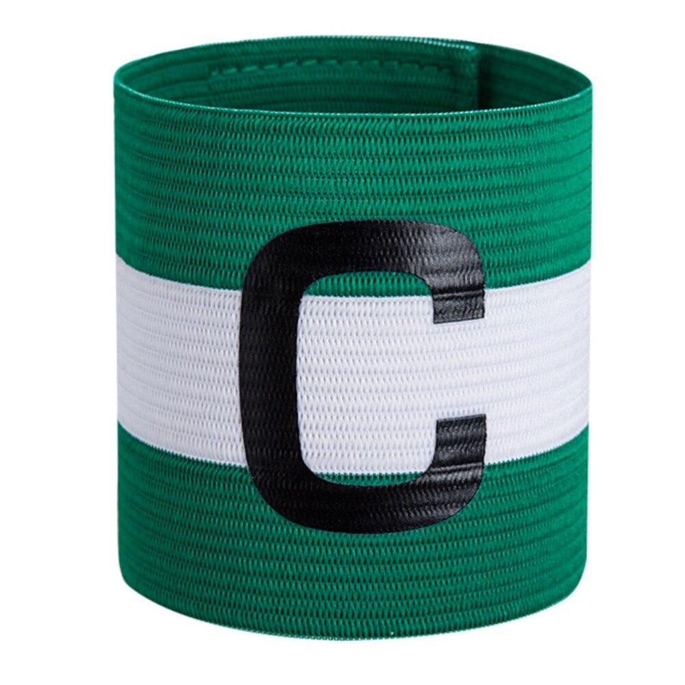JA151 Elastic Professional Football Match Captain's Armband C LOGO Arm Band Widen Thickening Cuff Soccer Sports Armband