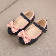 Детская летняя Милая танцевальная обувь принцессы с бантом для девочек; повседневная обувь для девочек; сандалии; chaussures ete fille;# A35