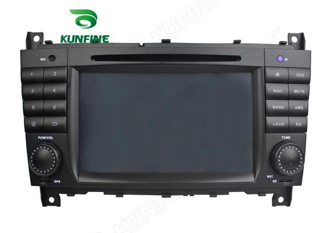 Quad Core 1024*600 Android 5.1 Reproductor de DVD Del Coche de Navegación GPS Estéreo Del Coche para el BENZ Clase C W203 Radio 3G Wifi Bluetooth