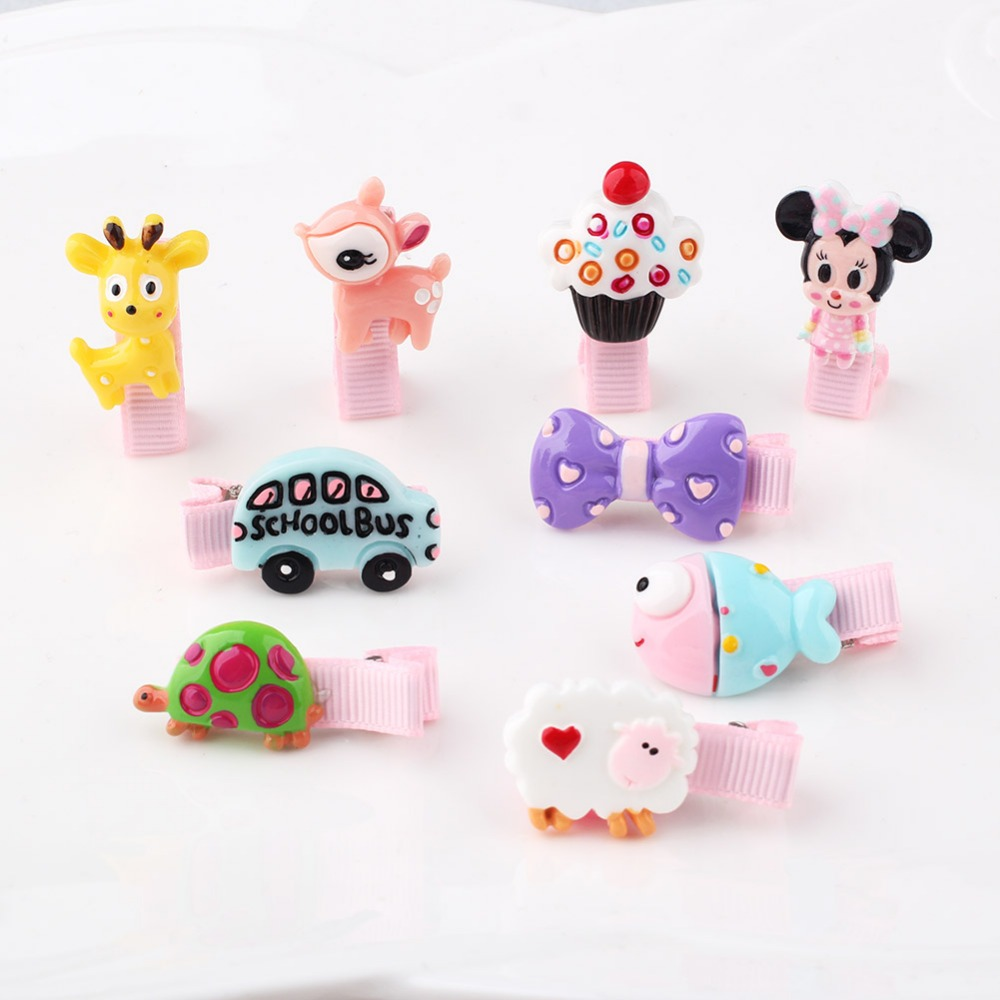 children 10 Colors  Cute Girls Hairpins  rabbit side-knotted clip hairpin hair clip small size Hair Accessories 12 colors cute girls hairpins children elsa side knotted clip hairpin hair clip small size hair accessories