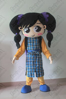 new walking disguise big eyes cute girl mascot costumes backpack pupil costumes OEM service